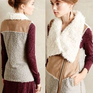 Anthropologie Saturday Sunday fur vest
